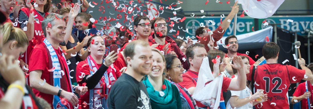 2. Basketball-Bundesliga ProA, Saison 2015/2016, Bayer Giants Leverkusen vs. RheinStars Koeln in der Smidt Arena, Leverkusen, Deutschland am 27.09.2015.   Foto: Gero Mueller-Laschet / BEAUTIFUL SPORTS